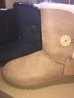 7ee2ce056c7 UGG BAILEY BUTTON Ii Navy Suede Womens Boots Us 11 Nib - $79.99 ...