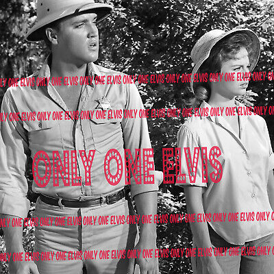 "1962 ELVIS PRESLEY in the MOVIES /""FOLLOW THAT DREAM/"" PHOTO w// Colonel PARKER 02"