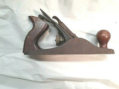 """Vintage Hercules by Sargent 9 3/4"""" Smooth Bottom Plane"""