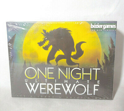 One Night Ultimate Werewolf by Bezier Games One Night Collection - NEW SEALED