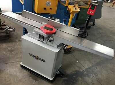 "Nice!! 6"" 40615 Steel City Heavy Duty Woodworking Jointer 1.5Hp Single Phase!"