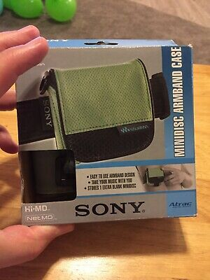 Sony MD-CASE4 Minidisc Walkman Armband Carry Case