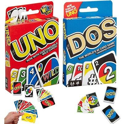 Uno Dos Tres! Wild Card Uno Card Game  Fast Shipping US Seller