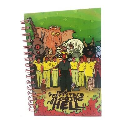 Adult Swim Your Pretty Face is Going to Hell Notebook/Notepad Official