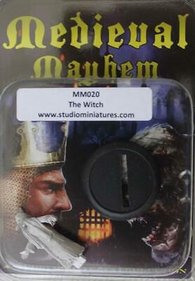 Studio Miniatures Medieval Mayhem Witch, The Pack MINT