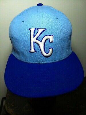 66829abef62b9e KANSAS CITY ROYALS On Field Fitted New Era 59fifty World Series Hat ...