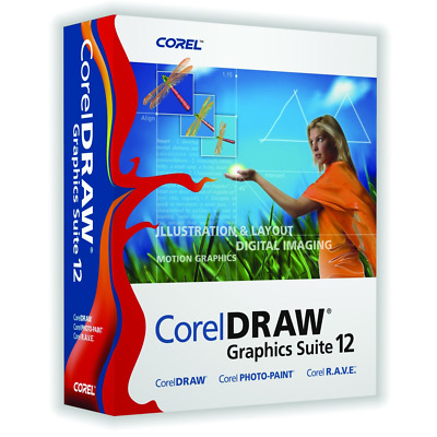 Corel Draw Graphics Suite 12 - EN DE FR IT ES - Download Link + Lifetime License