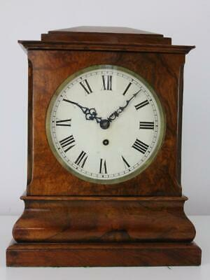 ANTIQUE LIBRARY BRACKET CLOCK rosewood REGENCY PERIOD fusee JOSEPH KENT, LONDON