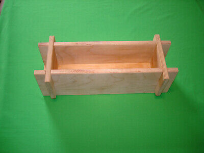 Wooden Soap Making Mold