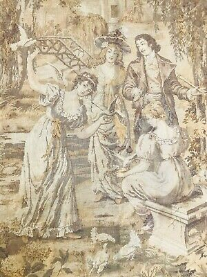 Rare Very Fine Quality French Large Wall Hanging Tapestry