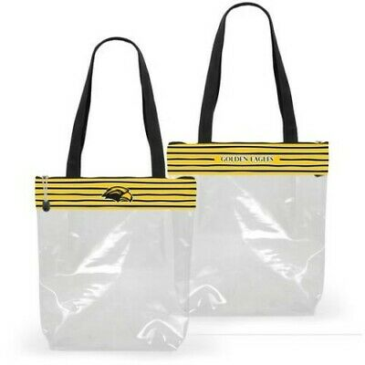 best sneakers 23628 90a35 Southern Miss Clear Zipper Stadium Tote Approved Purse Bag Ncaa Mississippi