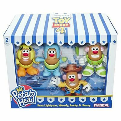 Disney Pixar Toy Story 4 Mr Potato Head Mini 4pk - Buzz, Woody, Ducky & Bunny