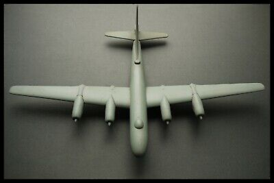 Vintage Cold War BOEING B50 SUPERFORTRESS Wooden Aircraft Recognition Model 1950
