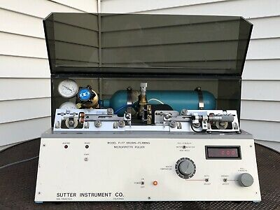 Sutter Instruments P-77 Brown Flaming Micropipette Puller Laboratory Machine