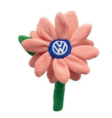 NEW Volkswagen Beetle Plush Coral Daisy Flower