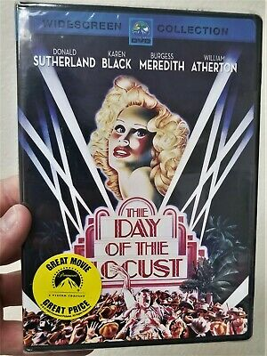 NOS Day of the Locust RARE OOP DVD Donald Sutherland Karen Black NEW SEALED