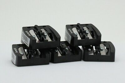 5 PACK Benefit cosmetic dual pencil sharpener U/B