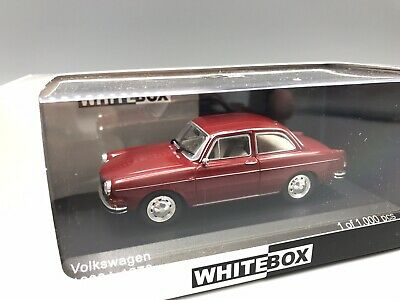 VW 1600 L, dunkelrot, 1970  - 1:43 Whitebox  *NEW*