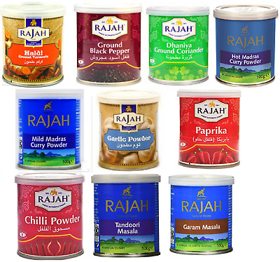 Rajah Masala Tin Multi flavours Spices and seasonings