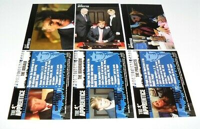 Comic Images The Apprentice Promo Card Donald Trump #P1,2,3 Lot Of 3 Cards