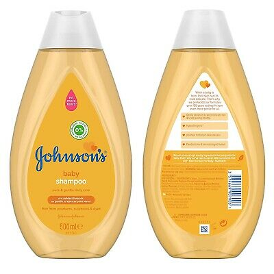 Johnson's Baby Gold Shampoo No More Tears 500ml 1,2,3 & 6 - Free & Fast Delivery