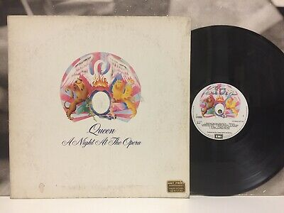 QUEEN - A NIGHT AT THE OPERA LP VG+/VG+ 1976 EMI 1st PRESSING ITALY NO INNER