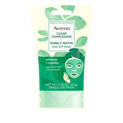 Aveeno Peel Of Mask Clear Complexion or Absolutely Ageless 10g