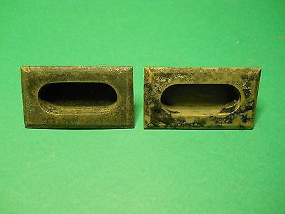 Vintage Solid Brass Cabinet Or Drawer Pull Restoration Hardware Part Lot A