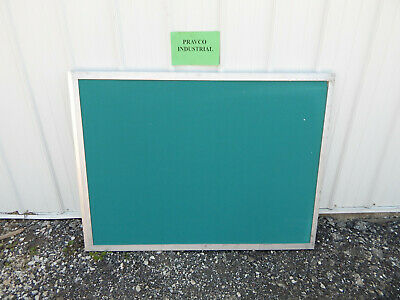 """33"""" X 45"""" Green Felt Stick Board with Wooden Frame"""