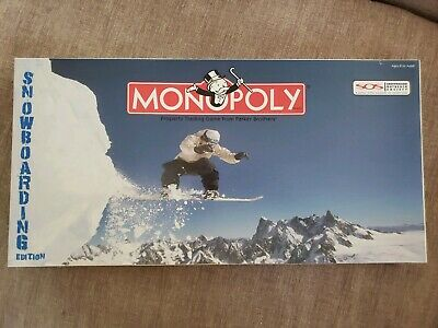 Monopoly Snowboarding Edition Complete