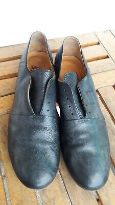 MENS SHOES MOMA 8 (EU 42) loafers black leather BS415