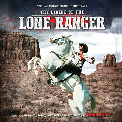 Legend of the Lone Ranger Soundtrack CD John Barry 19CDL79