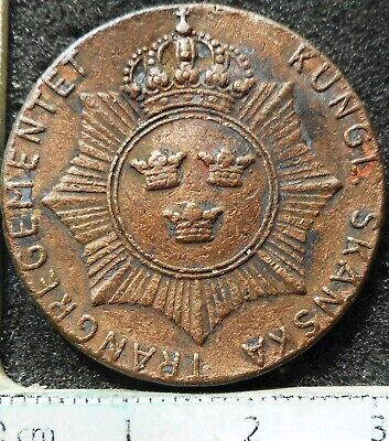 Royal Swedish Skanska Trang Regiment Token … (1948)