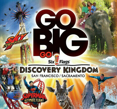 Six Flags Discovery Kingdom Tickets $38   Savings Promo Discount Tool