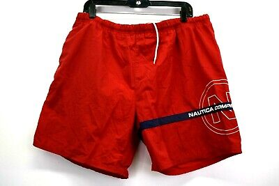 23fac7e9bd Vintage Nautica Competition Mens Large Drawstring Front Swimwear Swimming  Trunks