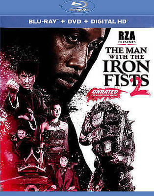 The Man with the Iron Fists 2 (Blu-ray/DVD, 2015, 2-Disc Set)