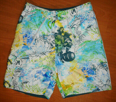 ae64d100ed Captain Morgan Official Crew Gear Men's Mesh Lined Board Shorts Size S  (32-34