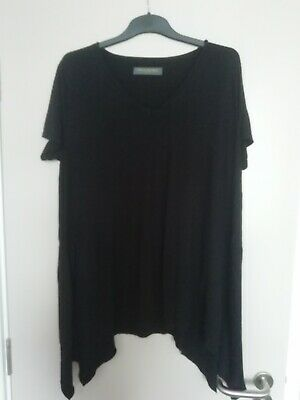 New Mothercare Blooming Marvellous Black Maternity Pregnancy top size L