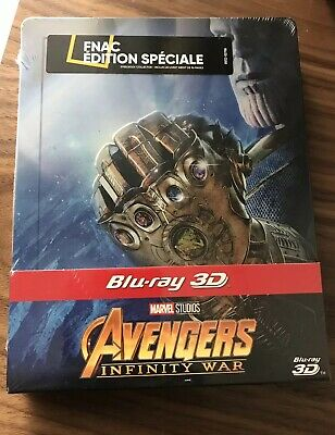 🙀🙀Avengers : Infinity War Edition Fnac Steelbook Blu-ray 3D SOLD OUT🙀🙀