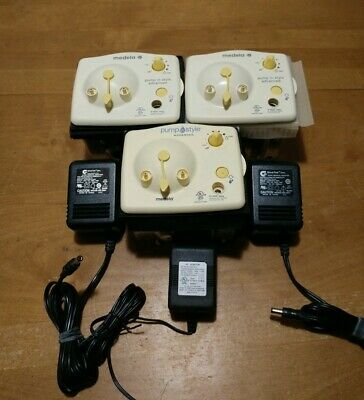 LOT OF 3 Medela Pump In Style Advanced Breast Pumps