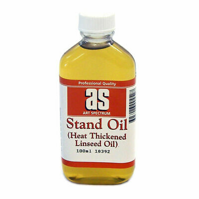 Art Spectrum Stand Oil (Heat Thickened Linseed Oil) (Available in 100ml & 500ml)