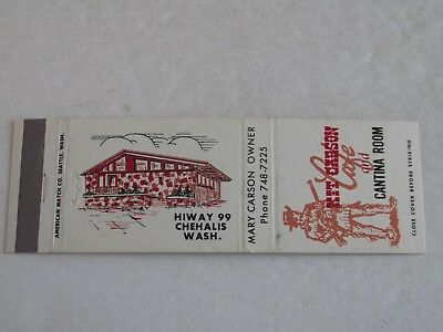 VINTAGE VESPA G S Scooter Motorcycle Matchbook Bill's Cycles