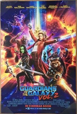 GUARDIANS OF THE GALAXY Vol. 2 MOVIE POSTER 2 Sided ORIGINAL INTL FINAL 27x40