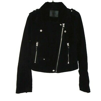 25bbee2cc BAGATELLE NYC SUEDE Leather Jacket Sz M Womens blanknyc - $125.00 ...