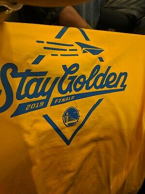 Golden State Warriors 2019 NBA Finals Tee T-Shirt 6/7/19 Game #4 vs Toronto