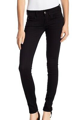 be7c483c609 G-Star Raw NEW Black Womens Size 24x32 Lynn Mid Rise Skinny Leg Jeans $119
