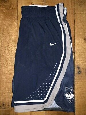 2bd164f4fe8eb Men's Nike Dri-Fit UCONN Huskies Navy Blue Polyester Basketball Shorts NWT M