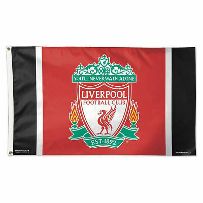 Liverpool Flag Banner3X5FT F.CYou'll Never Walk Alone Footbal Club 2Grommets/507