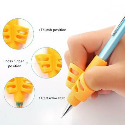 3pcs Kids Writing Pencil Holder Learning Pen Aid Grip Posture Correction Device