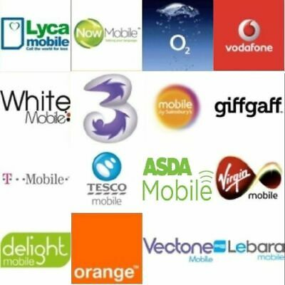 Uk  Payg Standard/Nano/Micro Simcards For Clear Voice Call And Superfast 4G Data